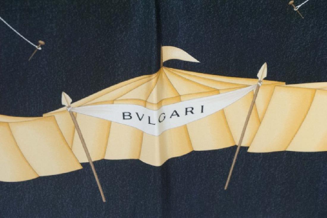 Bulgari Silk Scarf - Design by Davide Pizzigoni - 2