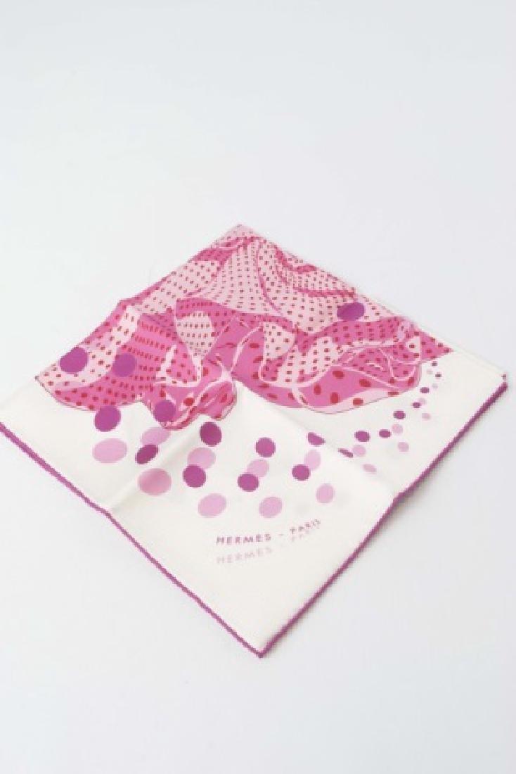 Hermes Paris Silk Handkerchief in Original Package - 3
