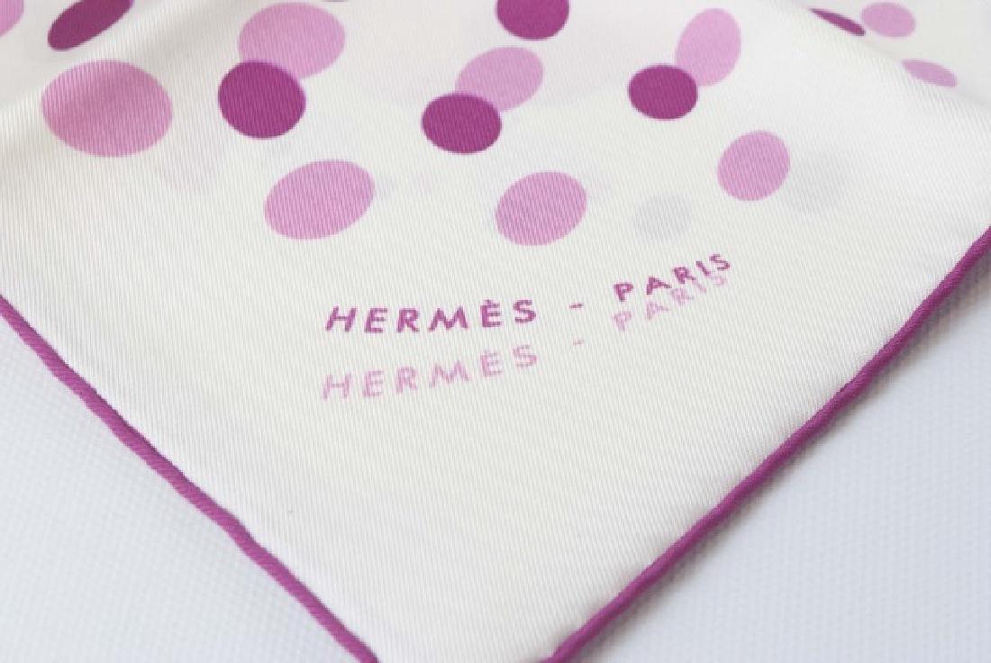 Hermes Paris Silk Handkerchief in Original Package - 4