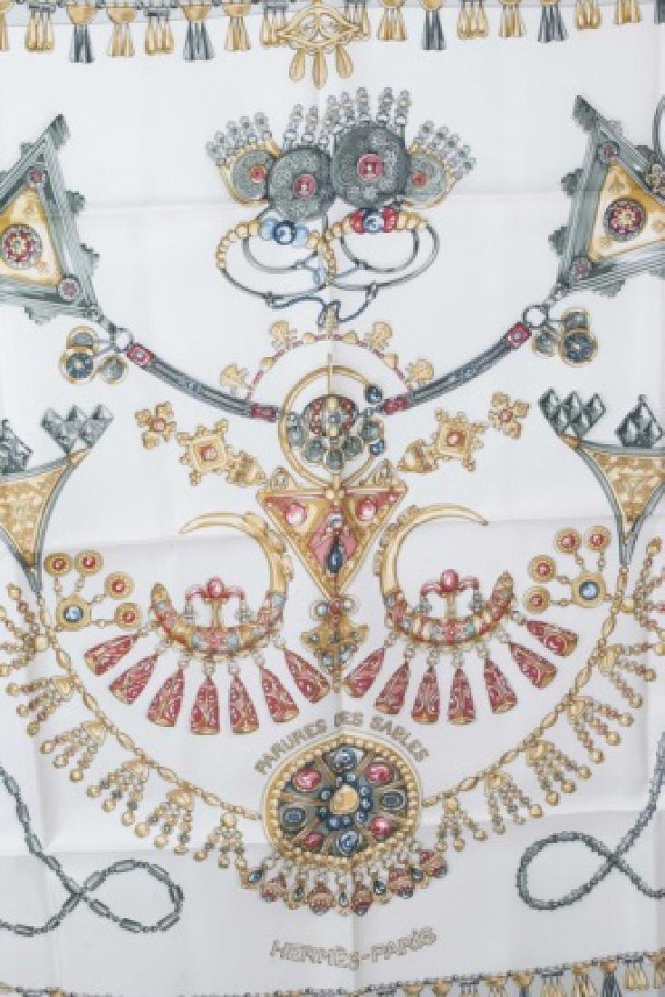 Hermes Paris Jewel Motif Silk Scarf w Original Box - 2