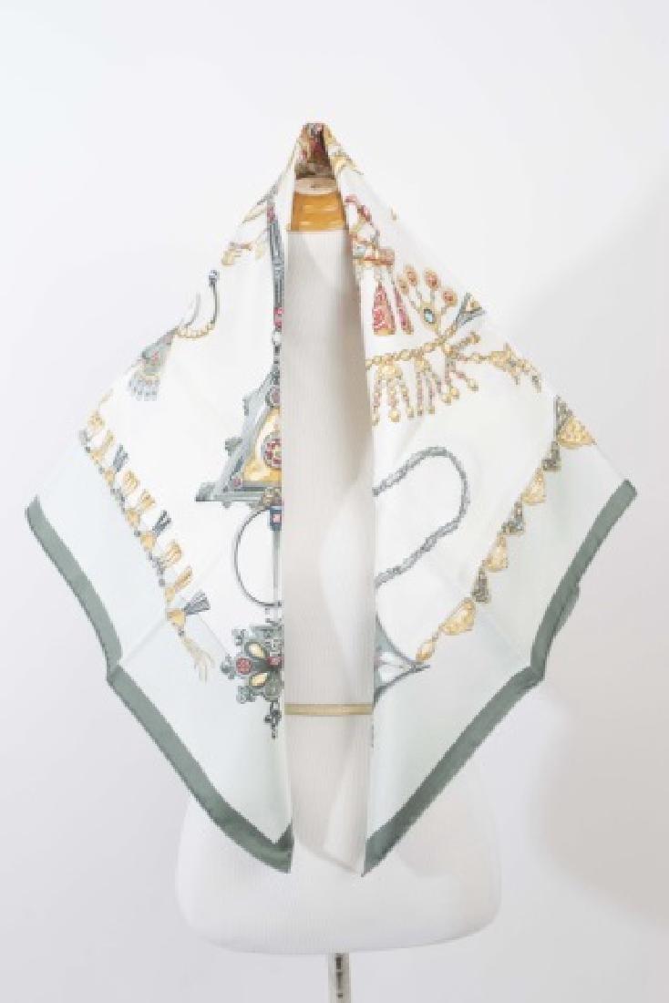 Hermes Paris Jewel Motif Silk Scarf w Original Box - 3