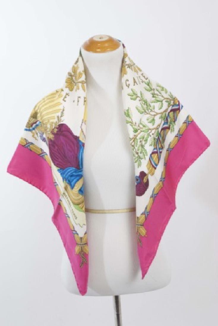 Hermes Paris Silk Scarf - Francaise Liberte - 3