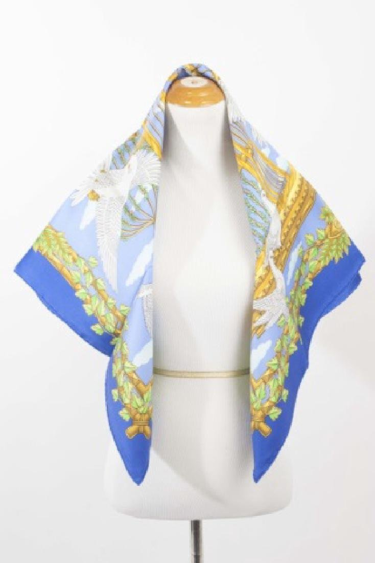 Hermes Paris Silk Scarf - United Nations Design - 3