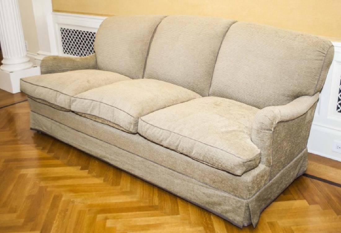 Custom Contemporary English Sofa by Howard Chairs