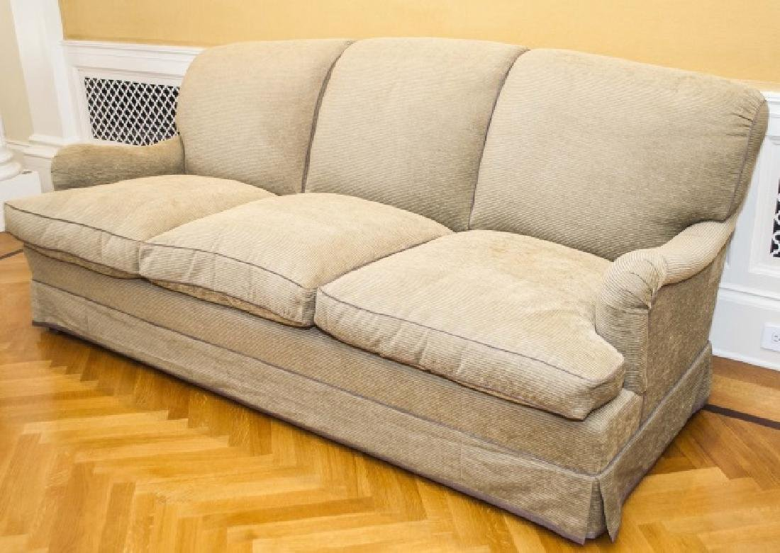 Custom Contemporary English Sofa by Howard Chairs - 4