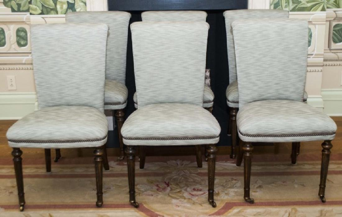 Set of Six William Yeoward Dining Side Chairs