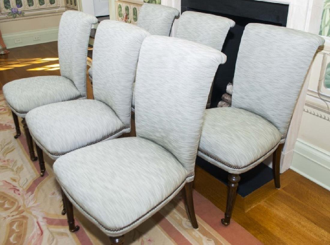 Set of Six William Yeoward Dining Side Chairs - 3