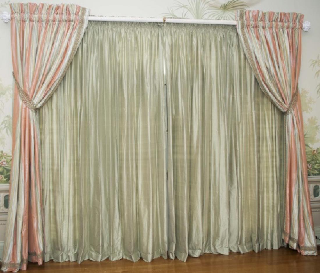 Large Size Quality Custom Silk Drapes & Panels