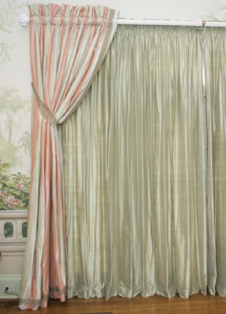 Large Size Quality Custom Silk Drapes & Panels - 2