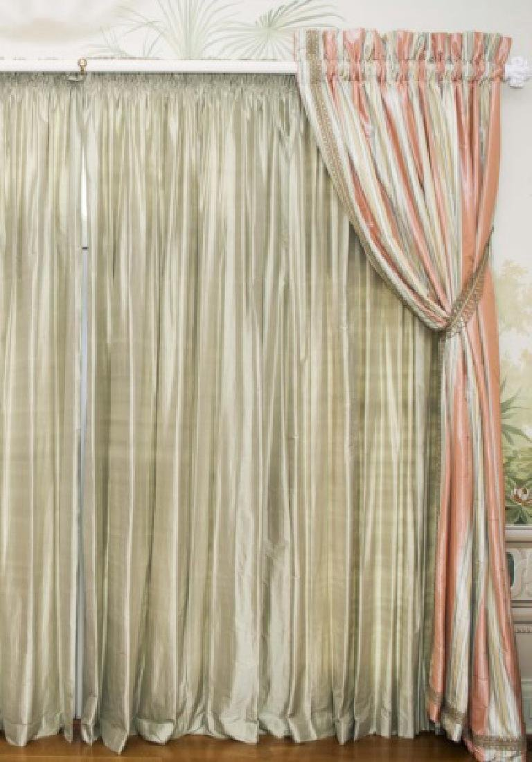 Large Size Quality Custom Silk Drapes & Panels - 3