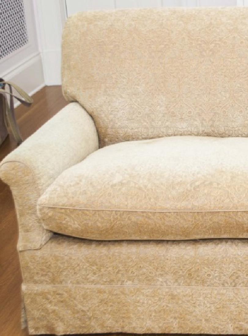 Custom Contemporary English Sofa by Howard Chairs - 4