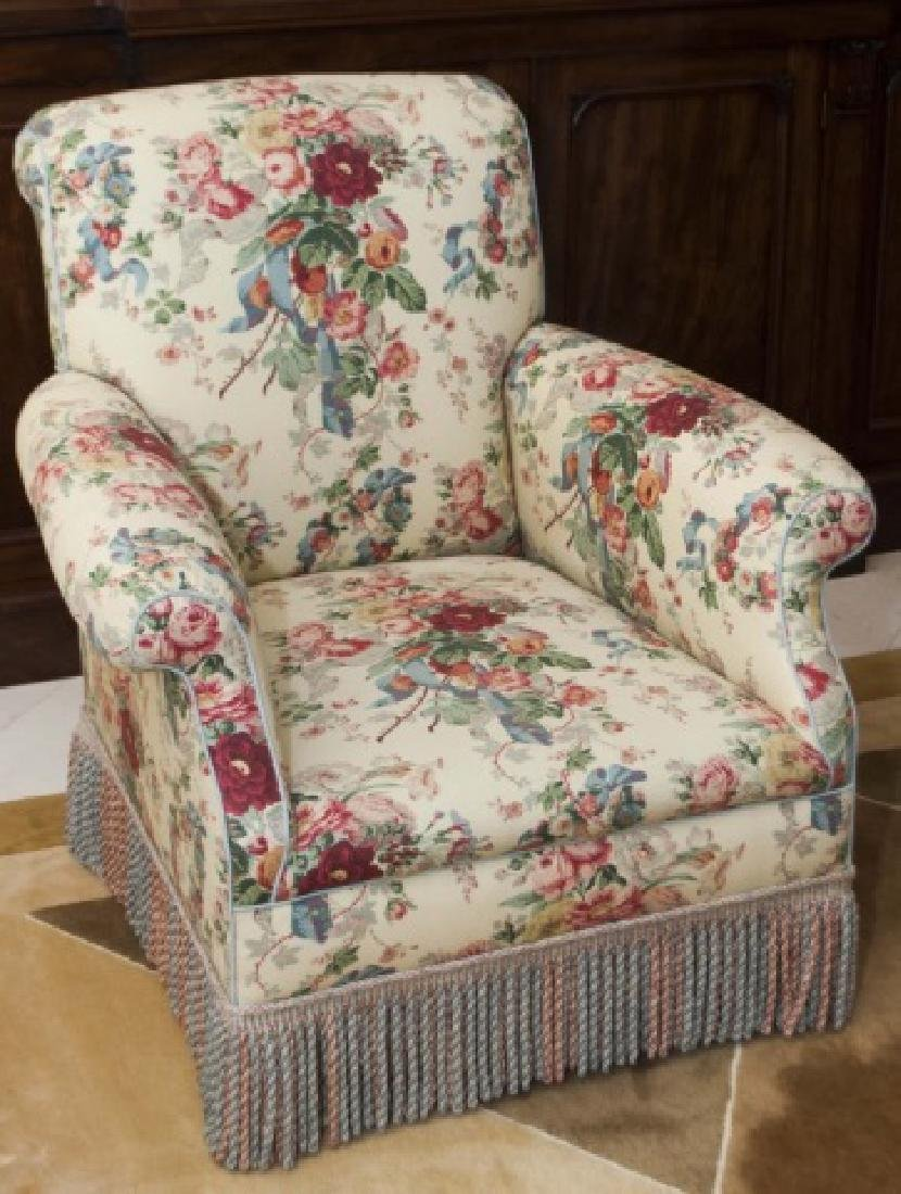 Contemporary English Armchair by Howard Chairs Ltd