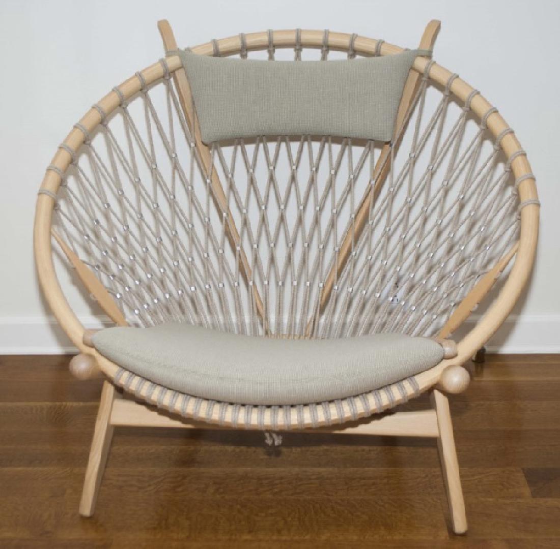 Hans Wegner Signed Modern Circle / Hoop Chair