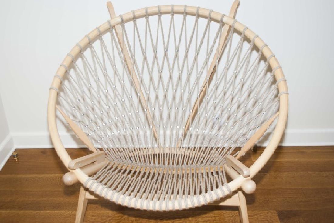 Hans Wegner Signed Modern Circle / Hoop Chair - 3