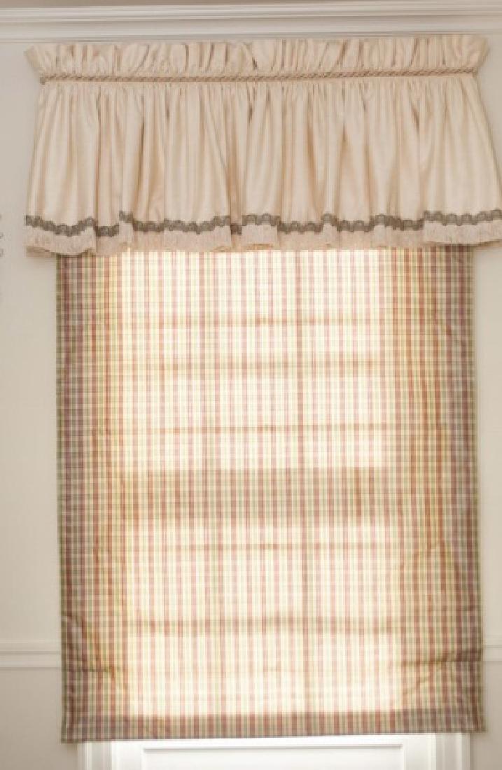 Custom Made Curtain Valance & Panel