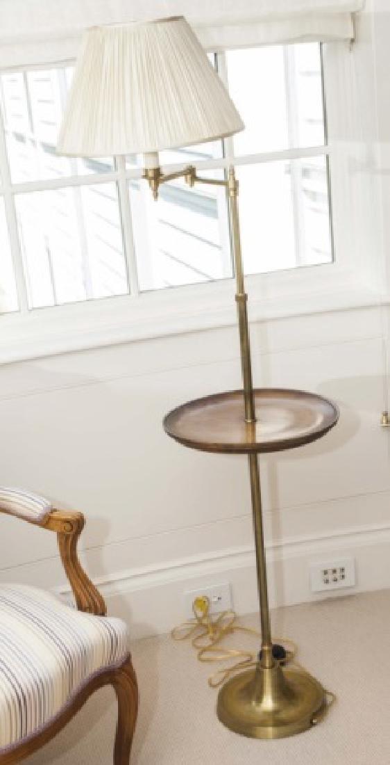 Besselink and Jones English Floor Lamp w Table