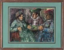 Benjamin Kopman (Russian-American) Painting