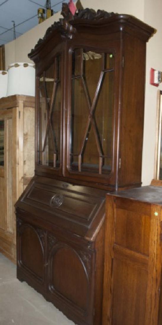 Antique 19th C French Provencal Secretary Desk