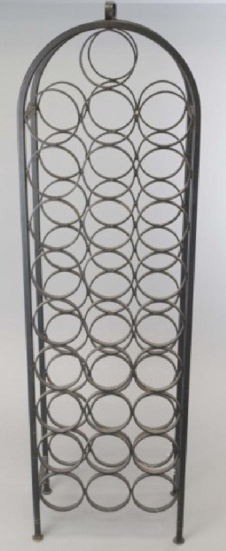 Wrought Iron Wine / Champagne Bottle Stand