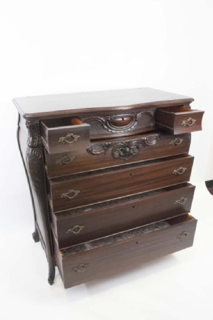 Antique Rococo / Baroque Style Dresser & Mirror - 2