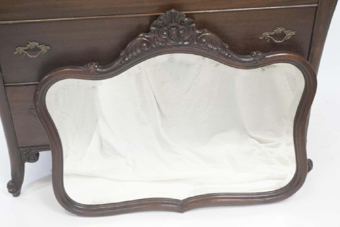 Antique Rococo / Baroque Style Dresser & Mirror - 3