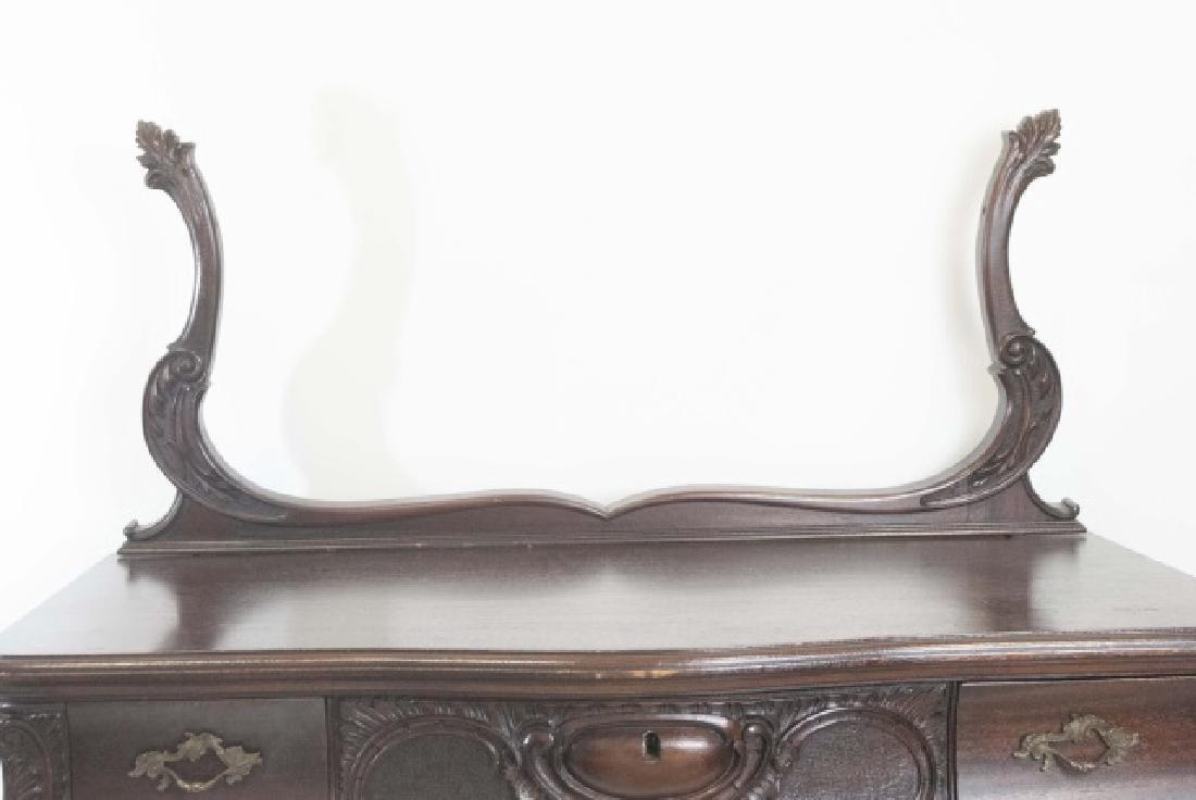 Antique Rococo / Baroque Style Dresser & Mirror - 4