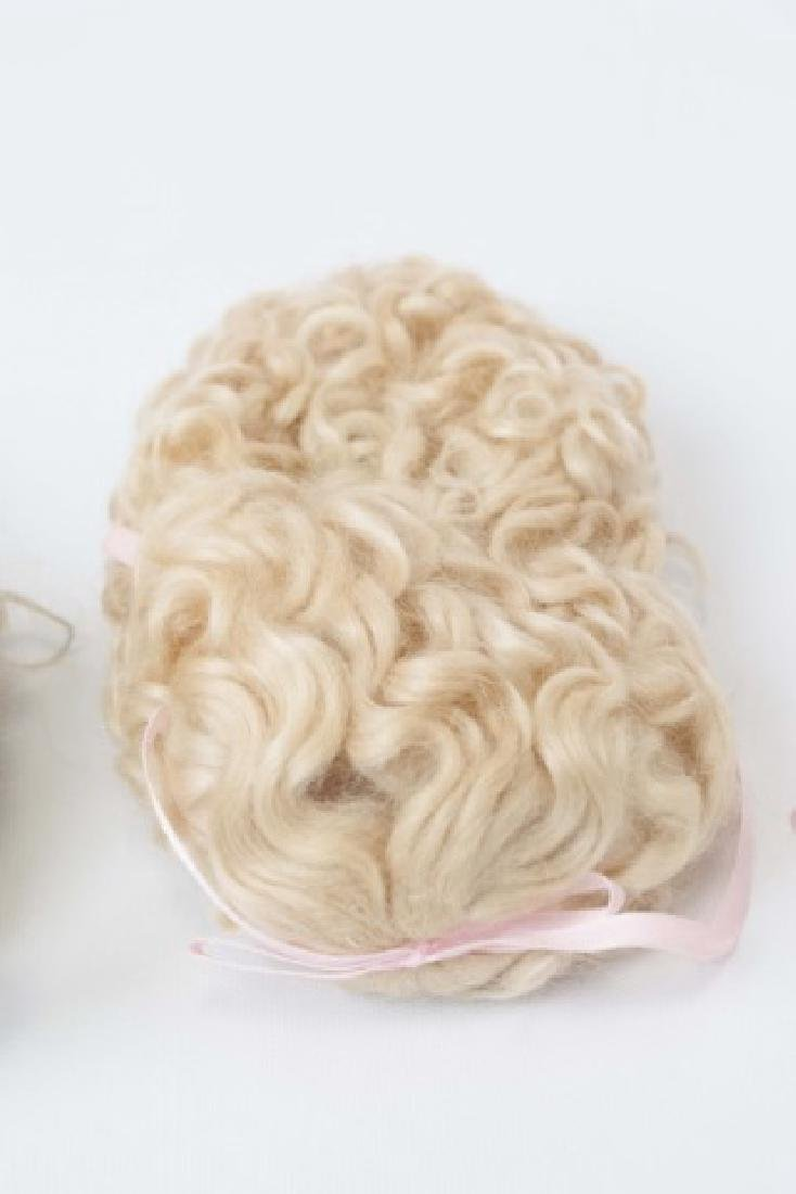 Three Wigs for Antique French / German Dolls - 4