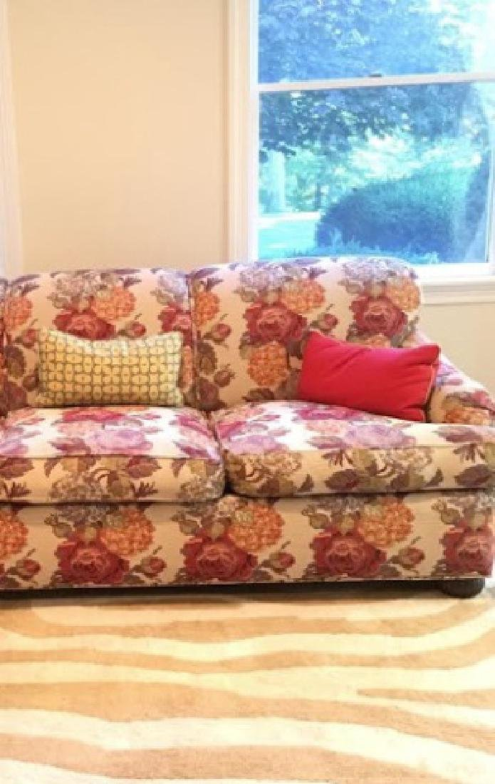 Kravet Couch with Textured Pierre Frey Fabric - 2