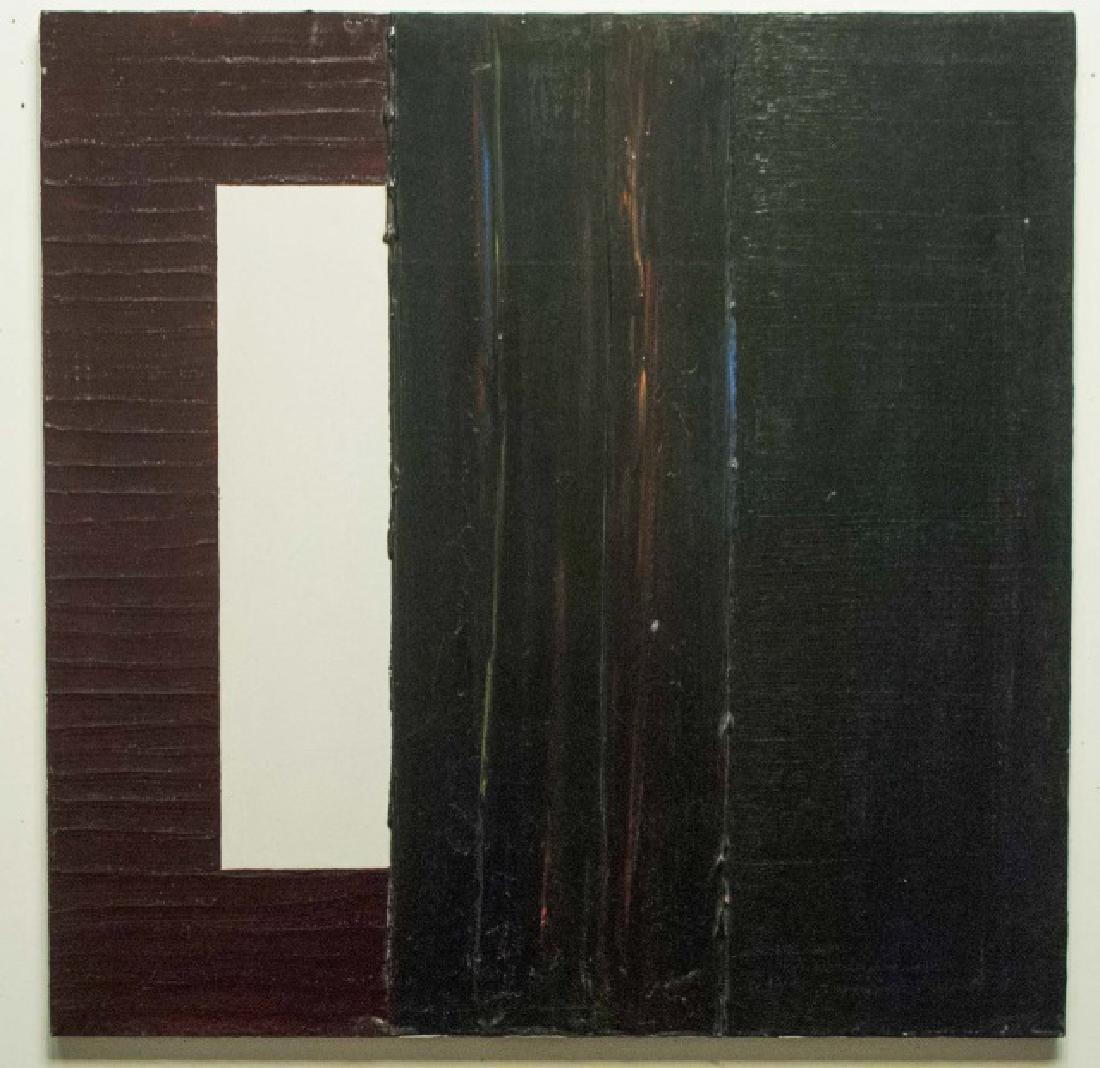 Pair Signed Contemporary Paintings Adam E. Cordero - 2