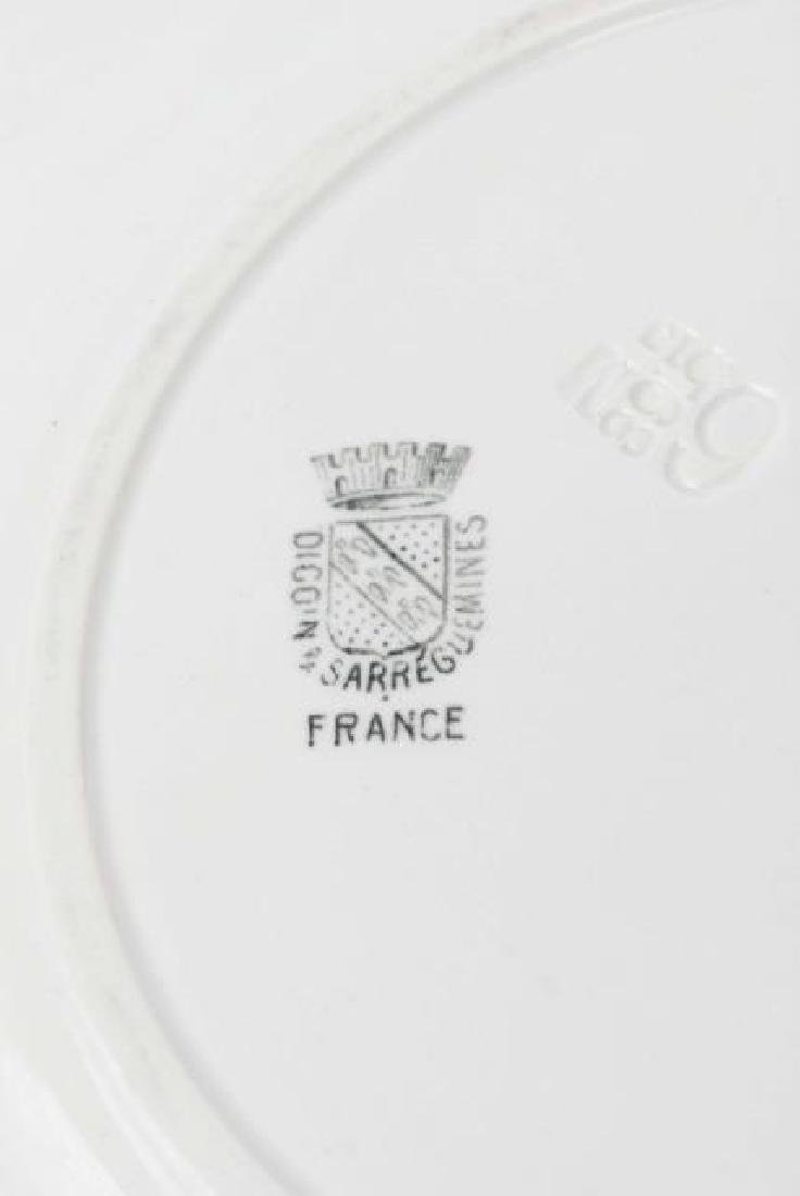 Antique 19th C French Plate - Witchcraft / Wizard - 2