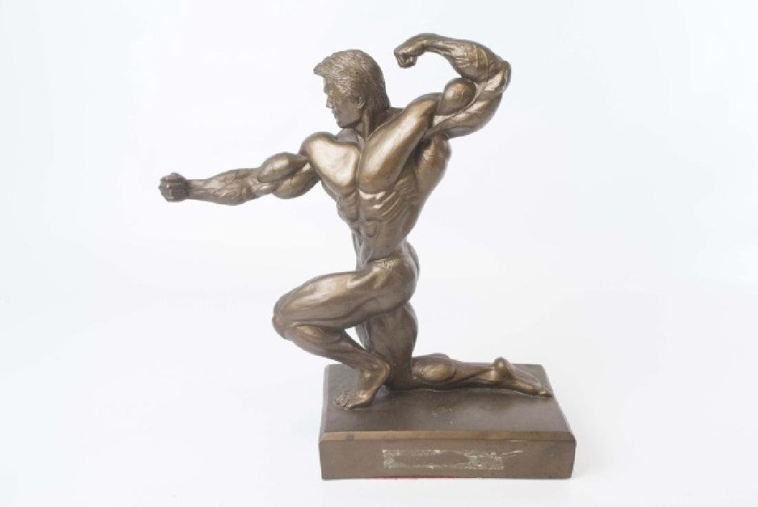 Muscular Male Physique Posed Statue - 2