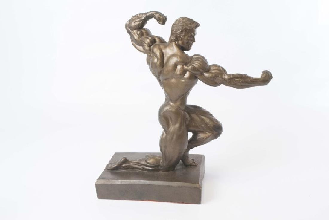Muscular Male Physique Posed Statue - 5