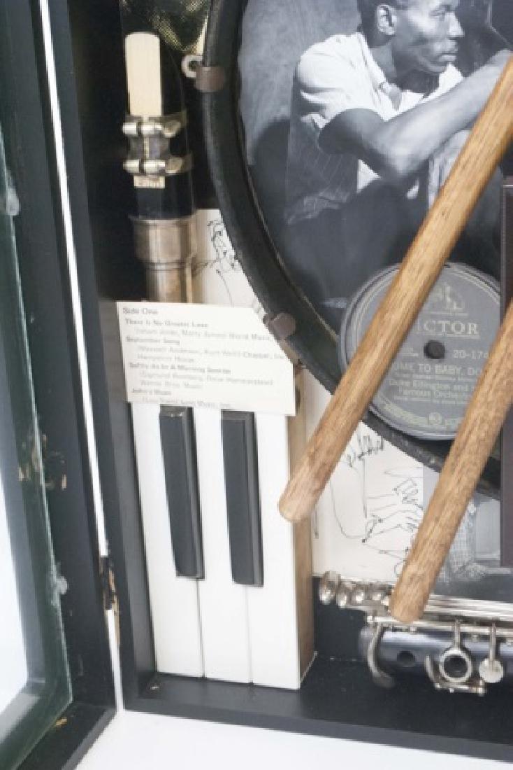 Louis Armstrong Jazz Era Shadow Box Display - 5