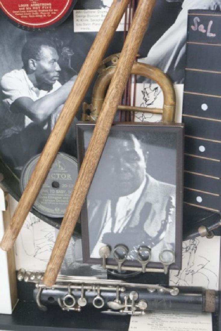 Louis Armstrong Jazz Era Shadow Box Display - 6