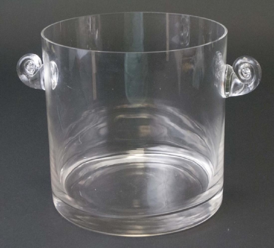Tiffany & Company Hand-Made Glass Ice Bucket