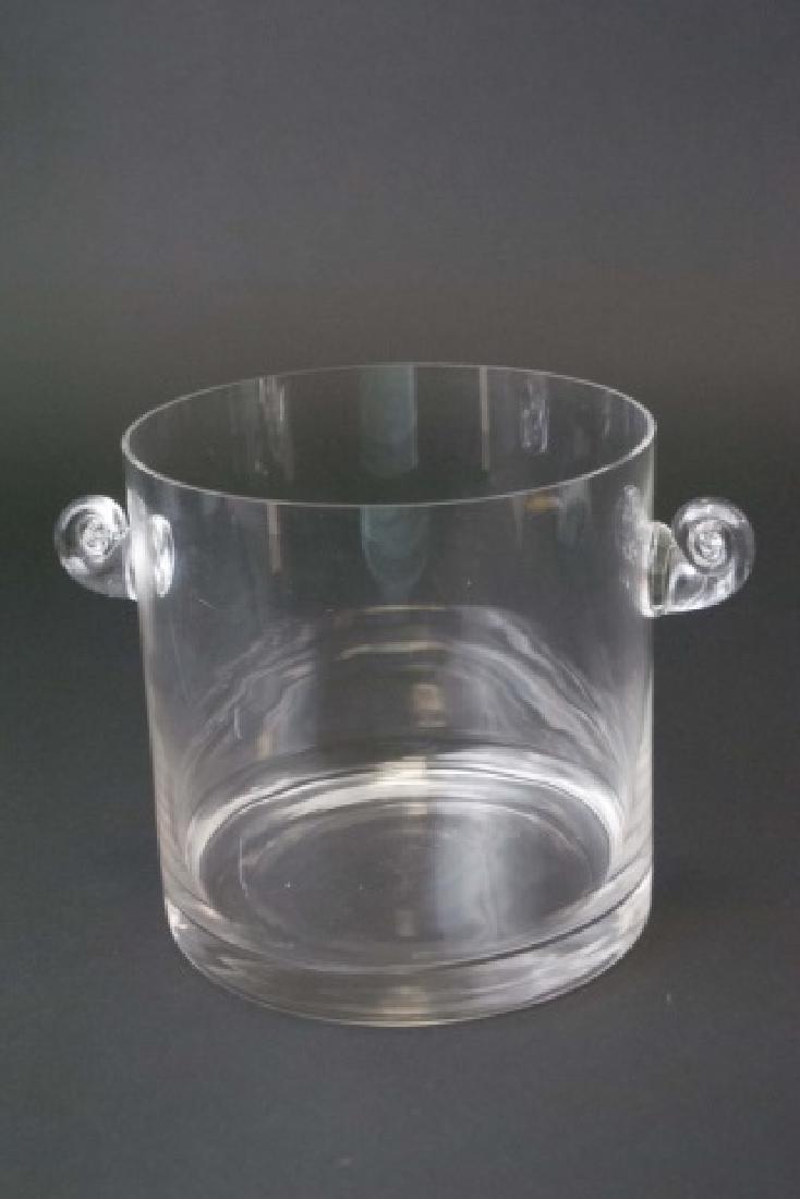 Tiffany & Company Hand-Made Glass Ice Bucket - 3