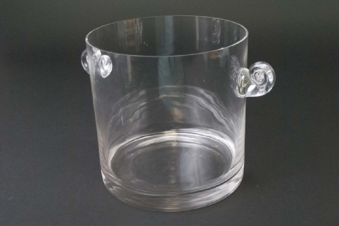 Tiffany & Company Hand-Made Glass Ice Bucket - 5