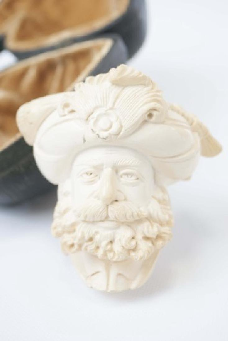 Vintage Meerschaum Pipe in Original Fitted Case - 3