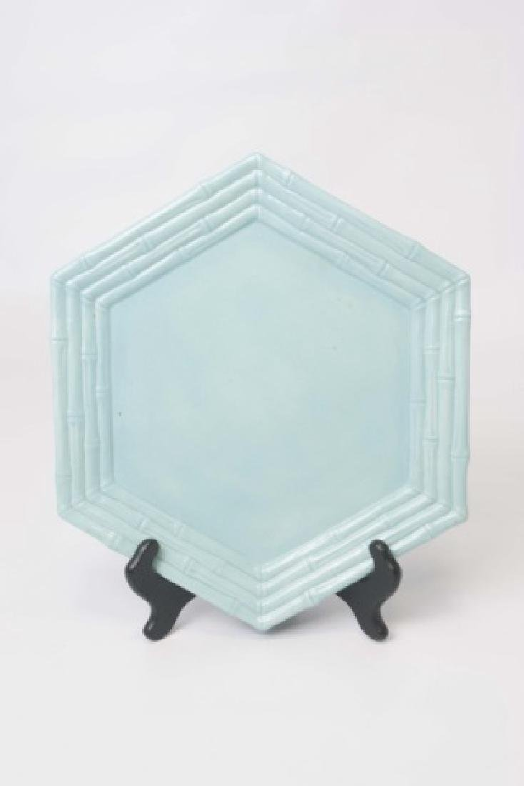 2 Sets of Ceramic Majolica Plates for 10 Places SB - 5