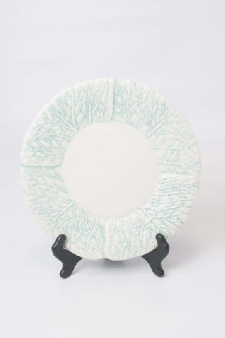 2 Sets of Ceramic Majolica Plates for 10 Places SB - 6
