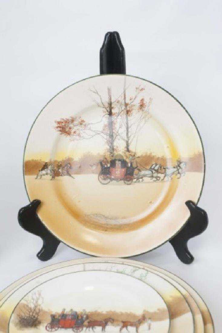 Pieces of Coaching Days Porcelain by Royal Doulton - 10