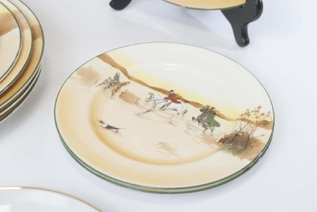 Pieces of Coaching Days Porcelain by Royal Doulton - 6