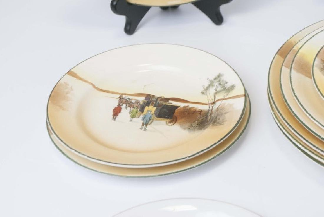 Pieces of Coaching Days Porcelain by Royal Doulton - 7