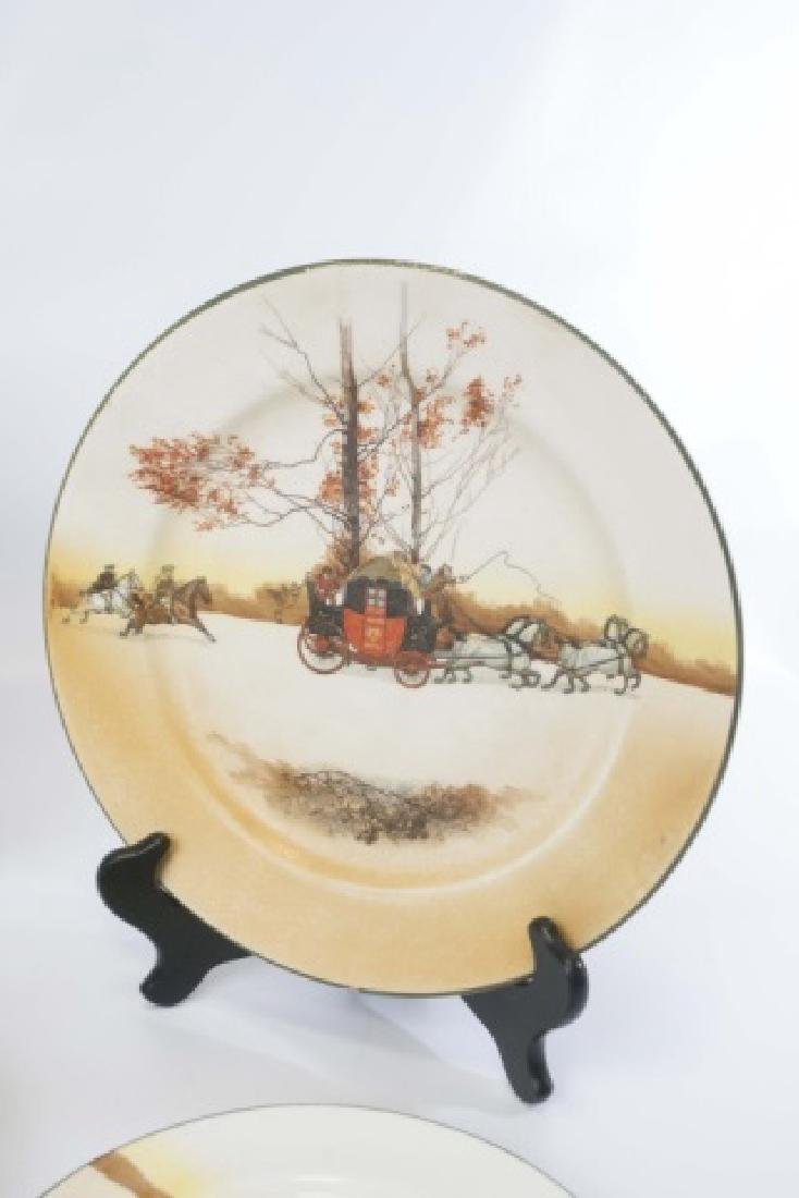 Pieces of Coaching Days Porcelain by Royal Doulton - 9