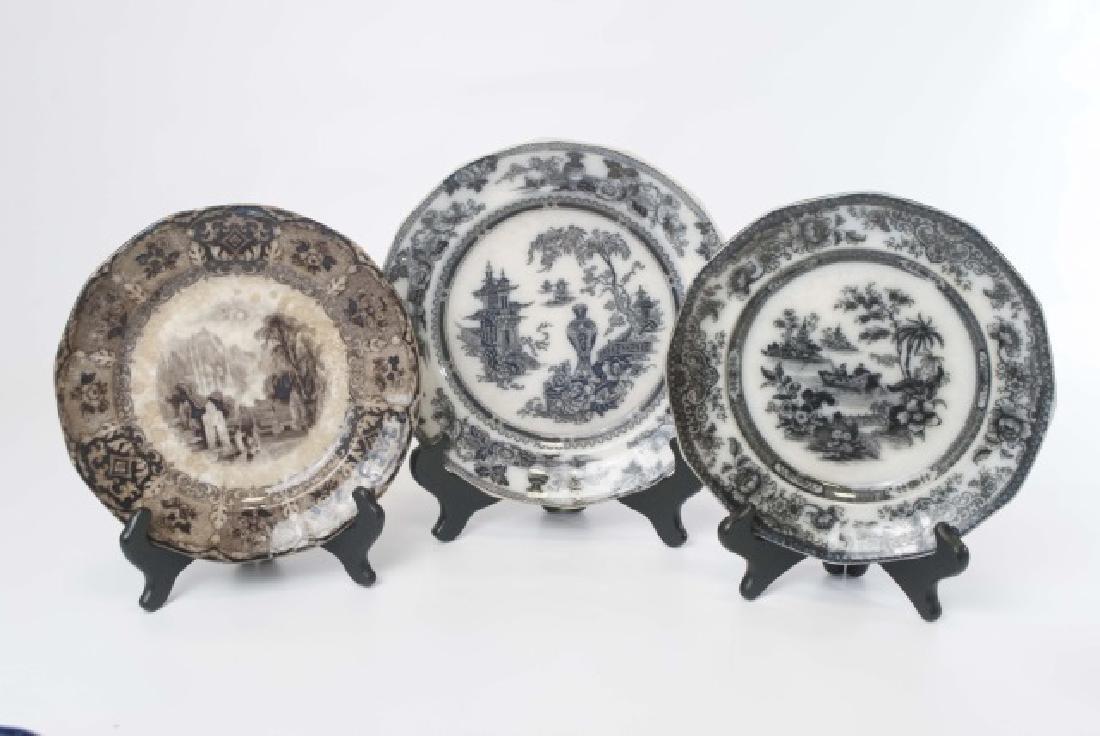 4 Items of Antique English Ironstone Transferware - 2