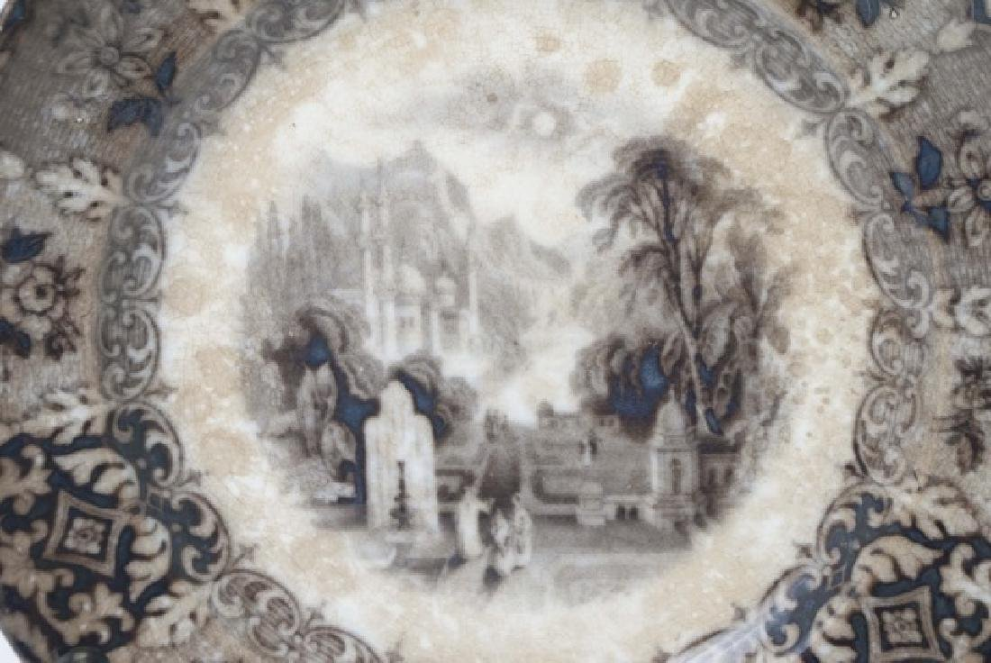 4 Items of Antique English Ironstone Transferware - 3