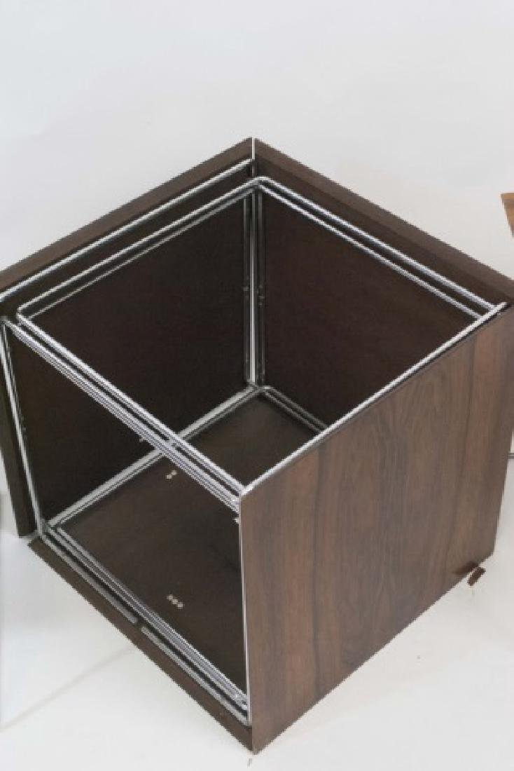 MCM Cube Table - Tray Table Storage - 2