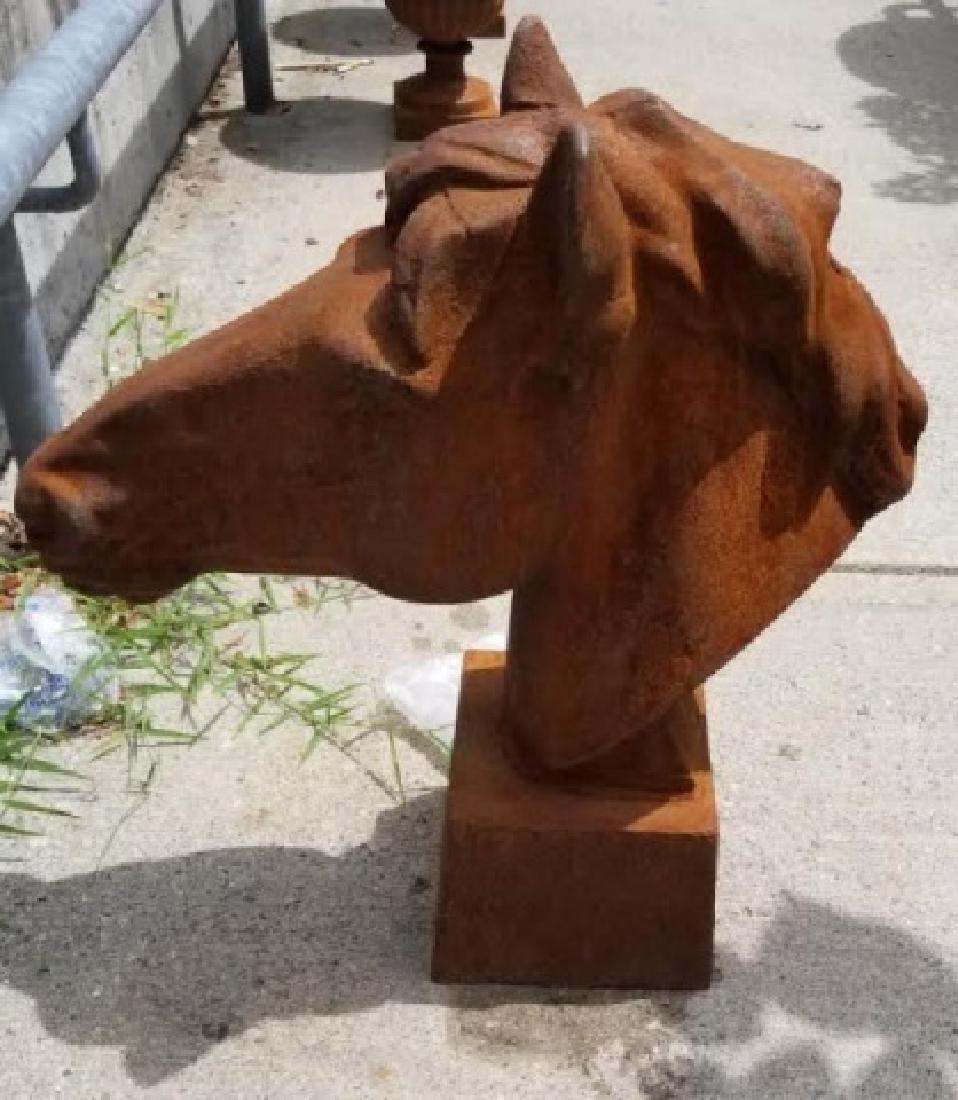 Ornamental Cast Iron Horse Head