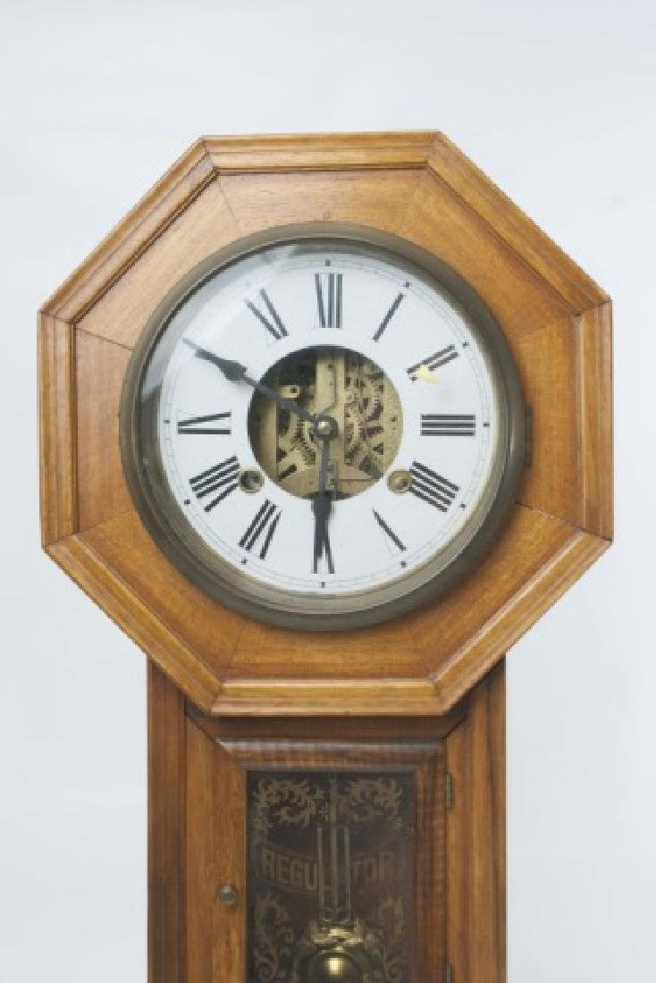 Classic Vintage Octagon-Shaped Wall Clock - 3
