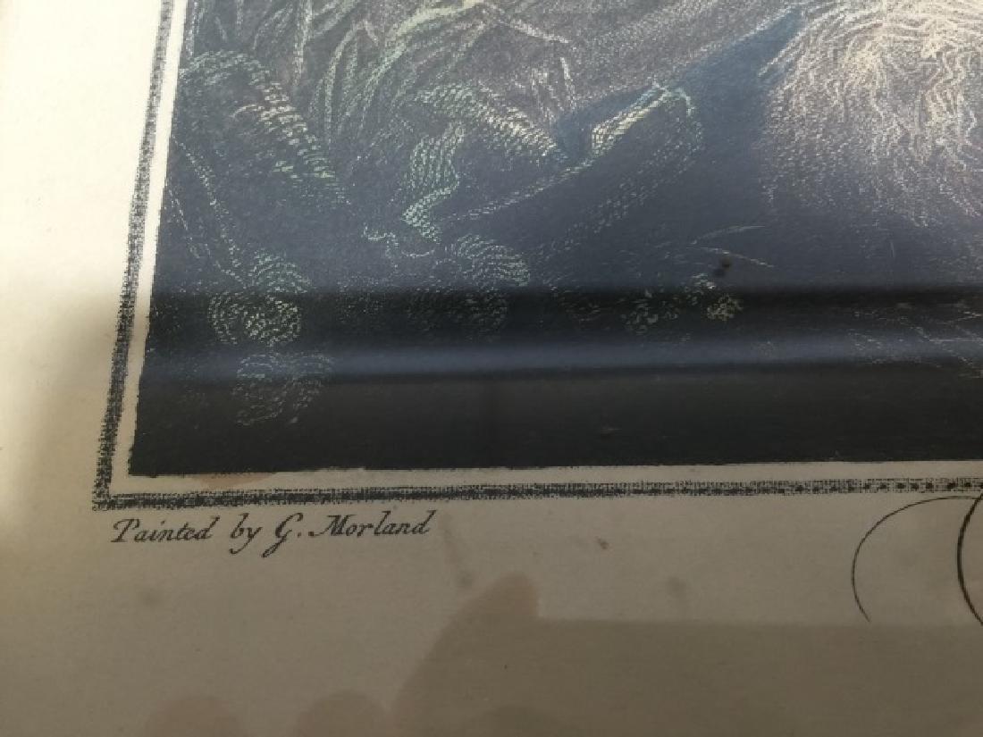 Pair Antique 19th C English George Morland Prints - 4